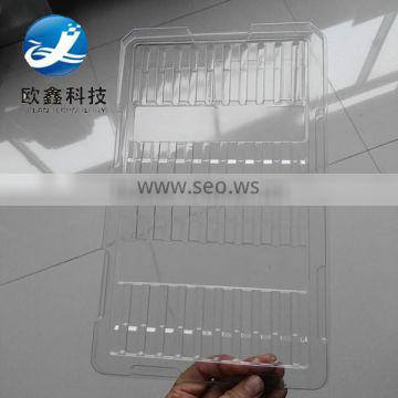 Clear plastic blister insert tray