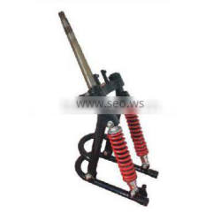 tricycle single arm front shock absorber