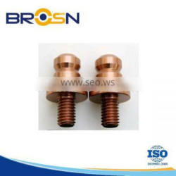 Customsized A3 /steel 45# NC Turning Screw spare part (Color Zinc plating )