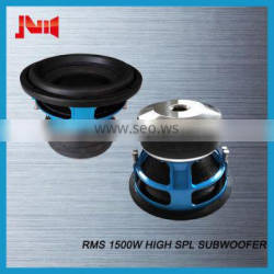 """Trade assurance car audio subwoofer for cars with RMS 1500w high spl subwoofer JLD AUDIO 10"""" 12"""" 15"""" 18"""" car speakers subwoofer"""