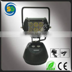 Promotion 18W super bright rechargeable LED working light, led work light, LED work lamp for truck 4X4 SUV vehicles