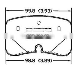 D476 04491-50020 for Toyota Lexus fronts auto brake pad