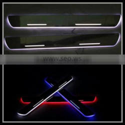 For TOYOTA RAV4 LED moving scuff plate door light door sill plate lights LED door sill