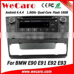 """Top Version Android 4.4.4 car dvd 7"""" 1024 * 600 double din car radio with gps for bmw e90 e91 e92 WIFI 3G A9 cpu 2005-2012"""
