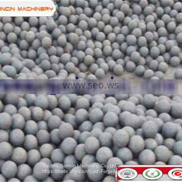 dia.100mm forged grinding media steel balls for mining mill