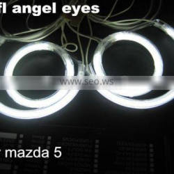 led lights ccfl halo rings for mazda 5 non projector ccfl angel eyes headlight for mazda 5 white