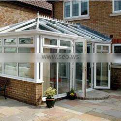 China factory price aluminium extruded profiles for greenhoue or conservatory