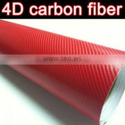 high quality carbon fiber film with air channels 1.52*30m 9 colors for choice