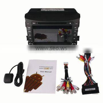 """8"""" Ownice quad core Android 4.4 & Android 5.1 automotive player for Kia Sportage R support DVR DDR3 2G 1024*600"""