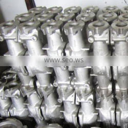 silica sol steel casting 316L stainless steel valve body