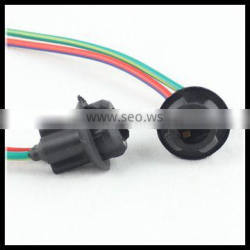 t10 bulb socket Extension Wire led bulb t10 w5w 194 adapter T10 led lamp holder