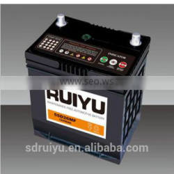 NS70 12V 65AH on automobiles for starting auto battery