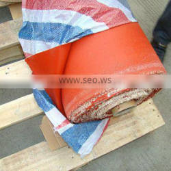 fda approved high temperature resistance double-sided silicone coated glass fabric at different thick with high voltage