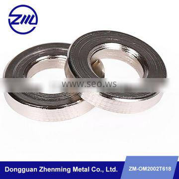 High quality screw metal bushes golden supplier non standard metal fittings