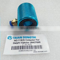 Collector For Delphi Injector 28437695