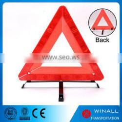 Wholesale price led light reflective traffic road sign triangle for caution