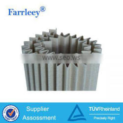 Air pleated filter cloth