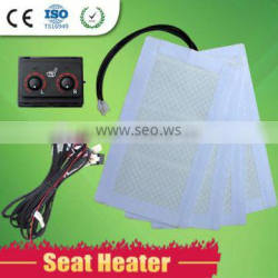 Factory price proffessional manufacturer supply low voltage car seat heater for Land cruiser