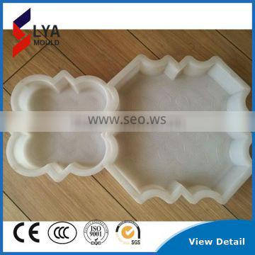 Low Price Precast Plastice Shapes Moulds for Concrete Stone for Road Pathway Beauty Sizes
