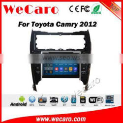 Wecaro WC-TC8071 android 5.1.1 car navigation for toyota camry 2012-2014 car multimedia WIFI 3G Playstore Middle East /Amercia