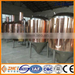 1000l copper kettle craft brewery for sale CE OEM manufacturer