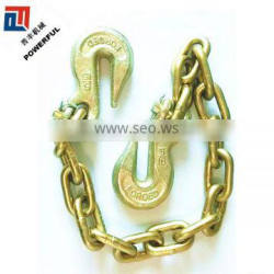 NACM US TYPE TRANSPORT TOW CHAIN WITH HOOK