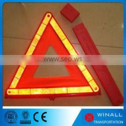Waterproof led light red triangle road emergency tool kit triangle