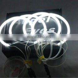 CCFL angel eyes for BMW E46 with projector ccfl angel eyes halo ring kit