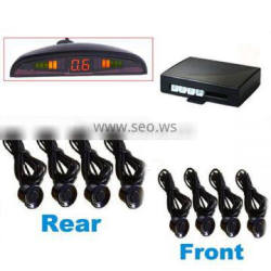 Mini LED Monitor Display Car Reversing Sensor System with 4 Front and 4 Rear In -Bumper Sensors RD-018C8