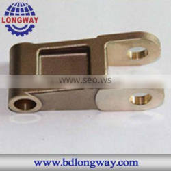 Chinese custom made investment casting copper foundry parts