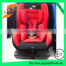 softtextile baby car seat/children safey baby car seat for group 0+1 2 3 years