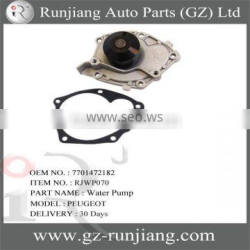 OEM.7701472182 12v high pressure water pump for Peugeot auto parts