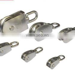 China stainless steel pulley