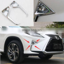 2016 RX200t chrome fog lamp cover