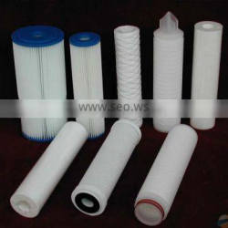 cleanable customized pleated pp filter cartridge