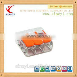 2015 wago new wire connector 3p terminal block