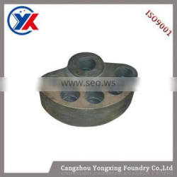 2015 new products vibrating accessories center block,cast iron parts,iron casting