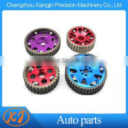 aluminum replacement cam gear cam pulley