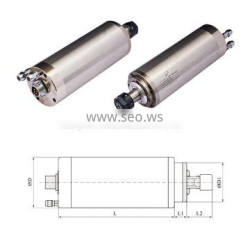 2.2KW spindle motor water cooling electric spindle for CNC router