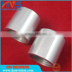 Automation OEM precision Aluminium CNC machining fastening nuts with inner thread