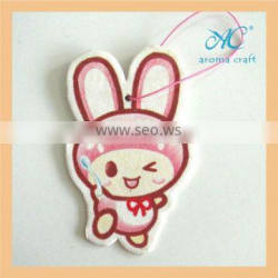 wholesale fragrance paper air freshener customized shape scented paper air freshener for car