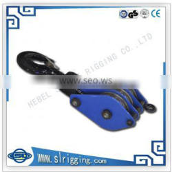 Marine hardware alloy steel sheave lifting snatch block