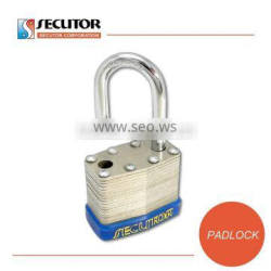 Dual Locking Keyed Different Laminated Steel Keyed Padlock