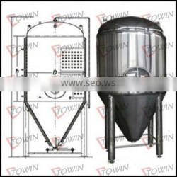 Factory Price Stainless Steel Conical Beer Fermenter Tank For Sale