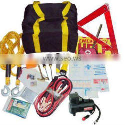 YYS12004 61-Piece Deluxe car repair kit with Jumper start with air compressor