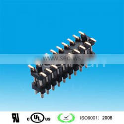 China Supplier 2.54mm Pitch Double Layer Double Row SMT Pin Header