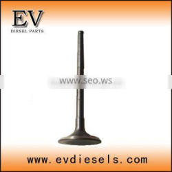 construction machinery engine RF8 RF10 valve intake / exhaust valve / valve guide / valve seat