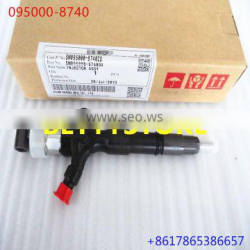 100% genuine and new common rail injector 095000-8740 23670-0l070 095000-776