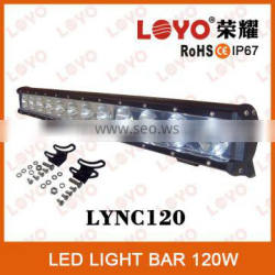 Hiway auto led IP67 25inch 120w LED light bar lamp,120w Offroad LED light bar,