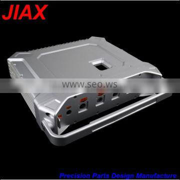 cnc machined High precision hand board model brushed motorcycle waterproof aluminum electronic cigarettes box